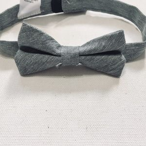 Other - Light Grey Baby Bow Tie